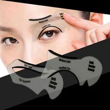 Kit 2 Stencil guida eyeliner linea+mascherina smokey eyes trucco occhi make up