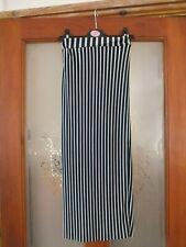 Ladies black stripe tube skirt by Atmosphere.  Size 4