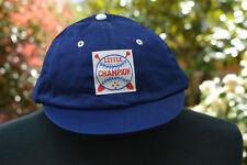 Kid's Children's Baseball Cap Hat Little Champion Blue Large 100% Cotton