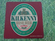 Beer Coaster ~ GUINNESS Brewery Kilkenny from IRELAND ~*~ The Cream of Irish Ale