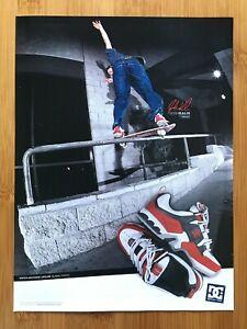 2000 DC Shoes JOSH KALIS Skateboarding Print Ad/Poster Official Man Cave Decor