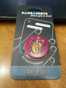 Brand New Authentic Popsockets Phone Grip - Harry Potter Gryffindor PopGrip