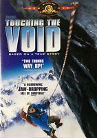 Touching The Void DVD Region 4 TRUE STORY Snow Mountain Climbing Movie THRILLER