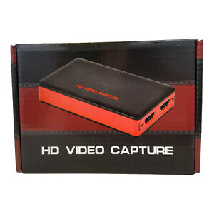 HD Video Game Capture Card 1080P 60FPS Game Recorder Box Device USB 3.0 HDMI