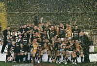 OLD LARGE PHOTO West Tigers 2005 Premiership win, team celebrating