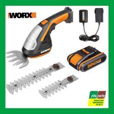 Worx WG801E 20V Forbice Elettrica a Batteria - Arancione/Nera