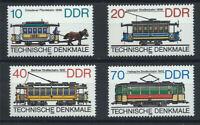 Allemagne Oriental N° 2637/40** (MNH) 1986 - Tramways Allemands