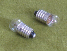 2 Replacement Light Bulbs for Stereo / Slide Viewers, Magnifier 245 E10 G3.5 3D