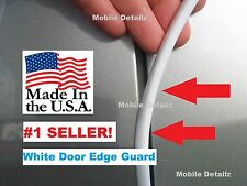 Trim Molding (MADE in USA!) gloss WHITE DOOR EDGE GUARDS  (fits): Cadillac