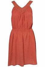Topshop Cotton V-Neck Dresses for Women