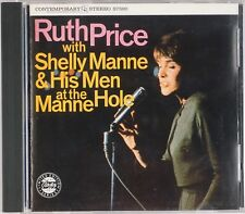 RUTH PRICE: With Shelly Manne & His Men CONTEMPORARY Rare Jazz CD OOP NM