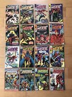 Daredevil Vol 1 1964 Lot of 16 Comics 12 21 24 32 36 37 38 41 42 48 57 59 Marvel