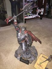 Medieval Spawn Resin Statue McFarlane Collectors Club Exclusive Home Decor - NEW