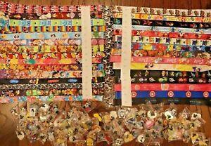 Disney World Pin Trading Lot Lanyard Princess Buzz Tink Mickey Cars Lot of 10