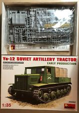 MINIART 35052 - SOVIET ARTILLERY TRACTOR Ya-12 EARLY PROD - 1/35 PLASTIC KIT