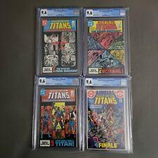 Tales of the Teen Titans 42 43 44 Ann 3 CGC 9.6 1st Nightwing RUN Deathstroke 💎