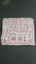 Ancien Abécédaire Alsacien 1895, old Alsatian aphabet