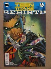 Teen Titans Rebirth #1 DC Comics 2016 One Shot 9.6 Near Mint+