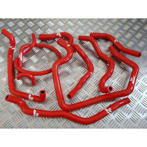 Roose Motorsport Silicone Ancillary Hoses for Ford Escort 1.6 / 1.8 Zetec MK6