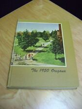 University of Oregon, Oregana Yearbook 1950 , 408 Pages    LARGE AWESOME BOOK