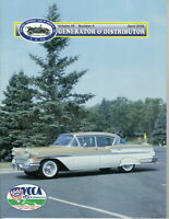 1958 BelAir 4-door Hardtop -Generator & Distributor Magazine Volume 45, #4 April