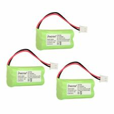 3-pc Cordless Phone Battery Pack For VTech BT166342 BT266342 BT183342 BT283342