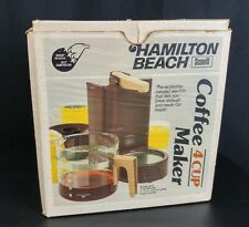Vintage Hamilton Beach 4 Cup Coffee Maker (d1)