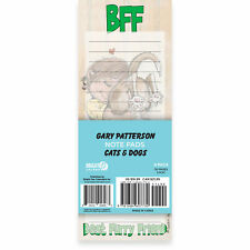 Gary Patterson Cats & Dogs Magnetic Notepad (4 Pack)