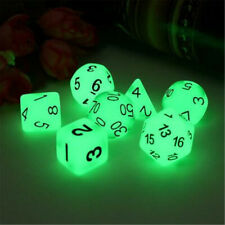 7pcs Luminous Polyhedral Dice Set For TRPG MTG Dungeons & Dragons DND Table Game