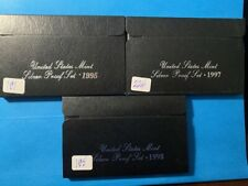 US Coins-(3)  Silver Proof Sets(1995,1997,1998)