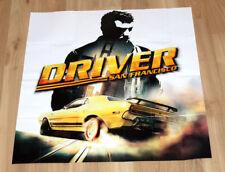Driver San Francisco Map / Poster PS3 Xbox 360 Playstation 3