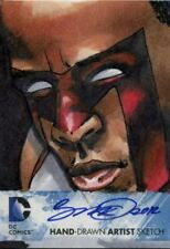 Cryptozoic DC The New 52 Sketch Card By Unknown Artist