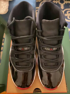 Air Jordan 11 Bred 2019 Men Size 9 VNDS
