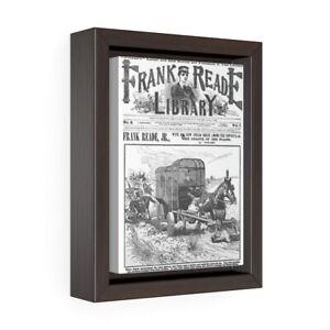 Frank Reade Library 1892 Comic Book Gallery Wrap Canvas
