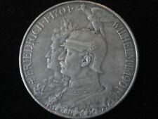 Royal German Prussian Empire Kaiser King Dynasty Reich Eagle Silver Mark 5 Coin