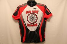 Old Fart Cycling Team Shirt Short Sleeve Jersey Adult Med