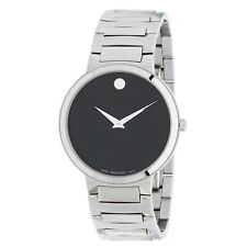 Movado 0607292 Temo Quartz Black Dial Men's Watch