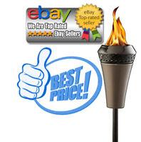 Tiki Brand 66-inch Island King Large Flame Torch Gunmetal Finish (BEST DEALS)