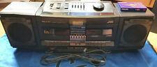 JVC PC-V77  Boombox Radio Recorder Ghettoblaster Kassettenrecorder Top Zustand