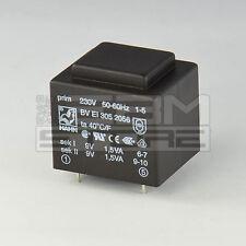 Trasformatore incapsulato 3VA 2x9V - ART. GI02