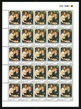 Uruguay visit Rotary intl President Richard King & wife #1932 MNH sheet $175.00