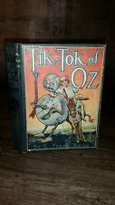 1914 TIK-TOK OF OZ by L Frank Baum Reilly & Lee Co. Chicago Edwin J. Mallman
