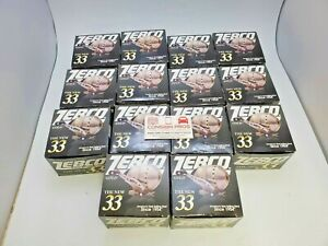Lot of 14 Zebco The New 33 Gold Fishing Reel ZS3872 Spincast 3-Bearing 3.6:1, FS