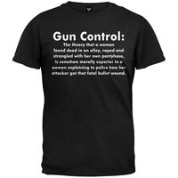 Gun Control Definition Adult Mens T-Shirt