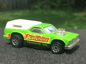 Vintage Hot Wheels Scorchers Truckin Co. 1978 Chevrolet El Camino 1/64 Diecast