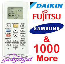 Universal Air Con A/C Conditioner Remote Panasonic Daikin Fujitsu Samsung & More