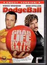 DODGEBALL - DVD R4 (2005)  Vince Vaughn  Ben Stiller - VERY GOOD - FREE POST