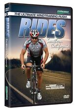 RIDES SOUTHERN CALIFORNIA Indoor Cycling Workout DVD NEW