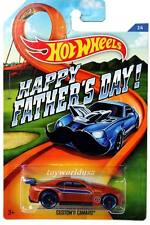 2015 Hot Wheels #02 Happy Father's Day Exclusive Custom '11 Camaro