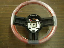 NOS OEM 2010 - 2013 Ford Mustang Steering Wheel Red Leather 2011 2012 2014